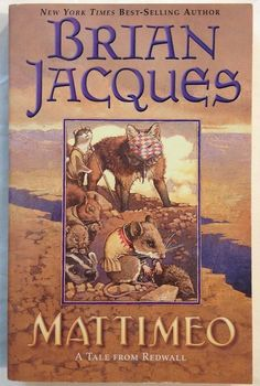 Mattimeo by Brian Jacques (2003 - Paperback) Book 3 - Redwall Series Young Adult