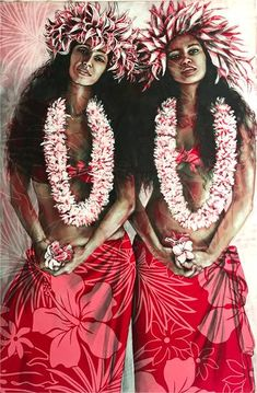 'PARADIS PERDU' This new collection of Limited Edition Fine Art Prints comes complete with my new signature logo either stamped on canvas or embossed on paper Edition is limited to 120 prints per image only! Back to Fine Art Print collections Polynesian Art, Polynesian Culture, Painted Island, Airplane Photography, Island Girl, Big Island, Portrait Art, Portraits, Acrylic Painting Canvas