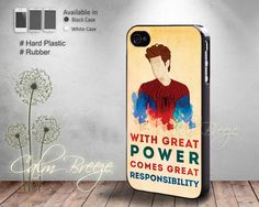 Spiderman Quote  Print on Hard cover  Print by SamanthaCalmBreeze, $14.99