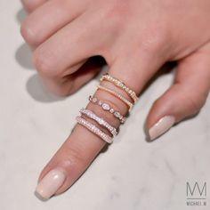 Michael M Enement Rings | Michael M Designer Engagement Rings Wedding Bands
