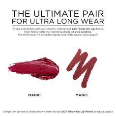Vice Lipstick in color MANIC (CREAM)