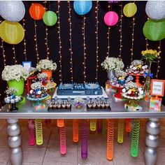 "812 Likes, 40 Comments - Kikids Party by Kiki Pupo (@kikidsparty) on Instagram: ""Festa Discoteca muito bacana e divertida para um menino de 12 anos! Por @caixadepoluka ✨…"""