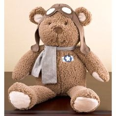 pilot teddy bear!