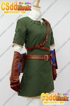 The Legend of Zelda Zelda Link Cosplay Costume by CSddlinkcosplay, $96.00