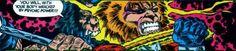 Darkseid New God of all Evil' sons Kalibak and Orion battle on Apokolips