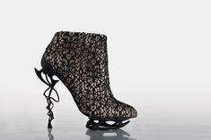 3D printed heels from designer Anastasia Radevich.