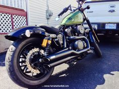 Yamaha Star Bolt with Vance & Hines Exhaust