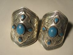 Pair of His and Her Matching Cuffs by ForgottenPast on Etsy