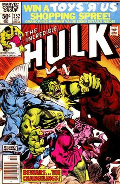Incredible Hulk # 252 by Rich Buckler & Frank Springer