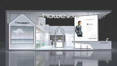 家天下 on Behance Exhibition Stand Design, Exhibition Booth, Restaurant Mexicano, Expo Stand, Booth Design, Online Portfolio, Nice View, Product Launch, Layout