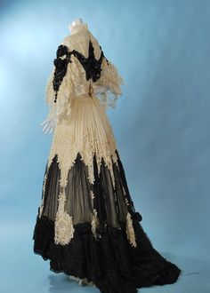 Victorian antique lace dress  This one might be the best of today!! Oh my!