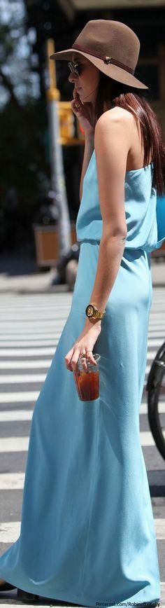Maxi Dress Street Style