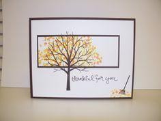 sheltering tree - Homemade Cards, Rubber Stamp Art, & Paper Crafts - Splitcoaststampers.com