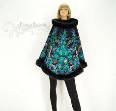 Russian Fashion, Russian Style, Fur Trim, Winter Coat, Coats For Women, Plus Size Fashion, Floral Prints, Runway, Ballet Skirt