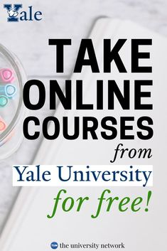 FREE Online Courses From Yale University - Online Courses - Ideas of Online Courses - Did you know that Yale University offers free online courses? Heres a list of their courses to take! Free College Courses Online, Online College Classes, Best Online Courses, Free Courses, Online Writing Courses, Online Courses With Certificates, Free Certificate Courses, Learning Courses, Free Education