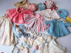 32 PC MUITO Vintage Década De 1950 Vogue Ginnette Doll Clothes Garrafa Chocalho sapatos Travesseiro | Bonecas e ursinhos, Bonecas, Roupas e acessórios | eBay!