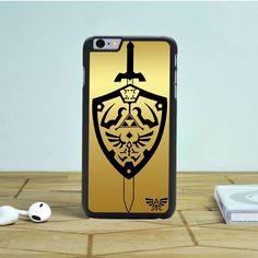 Zelda Master Sword Hylian Shield iPhone 6S Plus Case Dewantary