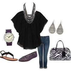 Comfy Spring Style, created by stigro on Polyvore