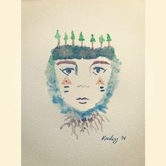 Daily Drawings by Karley Parker SOLD