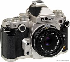 The Nikon DF a throwback look with today's amazing technology wrapped into one small package.