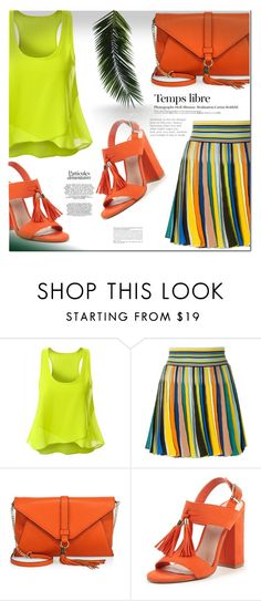 """Color fashion"" by aidri ❤ liked on Polyvore featuring Missoni, Milly and Hedi Slimane"