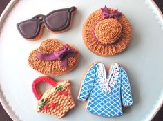 spring summerアイシングクッキー16モチーフの画像:「かわいいお菓子 micarina 」atelier diary
