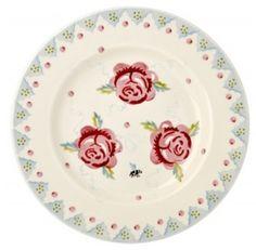 Emma Bridgewater Rose & Bee 8.5 inch Plate 2014