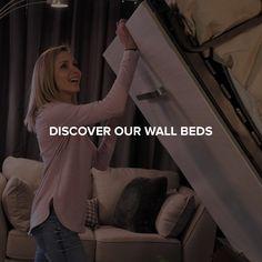 Amazon.com: Bestar: Murphy Beds Queen Murphy Bed, Murphy Beds, Murphy Bed Office, Bed Wall, Folded Up, Tv Shows, Amazon, Molding Ceiling, Stream Bed