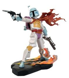 Star Wars: Animated - Celebration IV Exclusive Boba Fett Repainted Maquette $179.95
