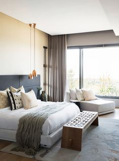 Contrast abounds in this Umhlanga home