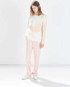 Image 1 de PULL BLOC DE COULEUR de Zara