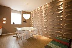 Revestimento 3D #3Dboard #living #homedecor #decoração