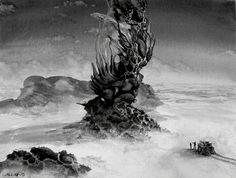 "Saatchi Art Artist Arthur Haas; Painting, ""Desert tree"" #art"