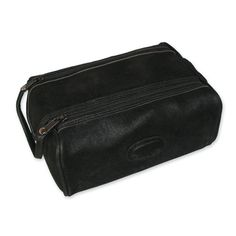 Dual Zip Toiletry Bag