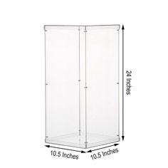 Clear Acrylic Pedestal Risers | Transparent Acrylic Display Boxes | TableclothsFactory Acrylic Plastic, Acrylic Box, Clear Acrylic, Tall Cabinet Storage, Locker Storage, Prop Box, Acrylic Display Box, Window Cleaner, Display Boxes