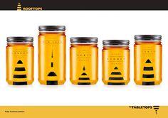 Label Ideas | Rooftops Honey
