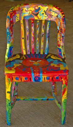 Multicolor... im not throwing away any wood furniture ever!!