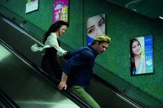 Still of Chris Hemsworth and Wei Tang in Blackhat (2015)