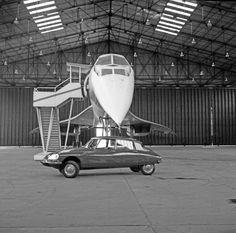 Concorde Prototype & Citroen DS5