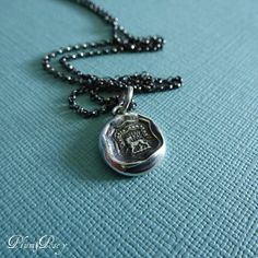 Leadership Griffin Wax Seal Necklace {Never Behind}