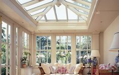 Orangery - every home needs one Like this design? Live In Design provides a wide range of stunning conservatories! http://www.live-in-design.co.uk/conservatories_eastleigh.html