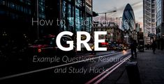 #gre #study #test #testprep #graduateschool #mba http://www.discoverbusiness.us/education/online-mba/resources/gre/