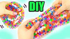 Super Squishy Stretchy Ball ! DIY Orbeez Stress Ball!