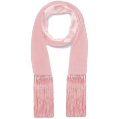 VELVET SCARF WITH FRINGE (263 495 LBP) ❤ liked on Polyvore featuring accessories, scarves, fringe shawl, velvet scarves, velvet shawl and fringe scarves