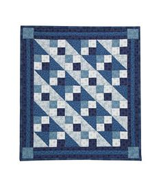 January Little Quilt Pattern Download available at connectingthreads.com