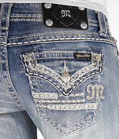 Miss Me Slim Boot Stretch Jean - Women's Jeans | Buckle