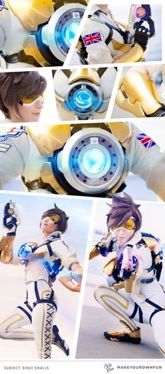 Tracer cosplay : gaming