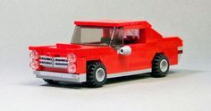 https://flic.kr/p/GyAWnY | Lego 1966 GTO 02 | A simple 6-wide 1966 GTO. This was a quick build inspired by my 1/18 scale diecast model.