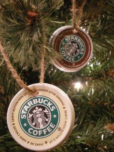 Starbucks Ornaments by PollutedEssence.deviantart.com on @deviantART