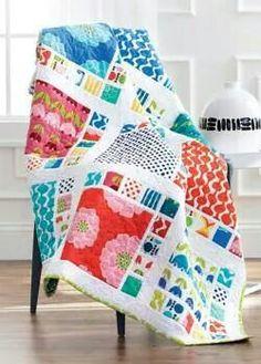 """Beautiful quilt using 10"""" squares..."""